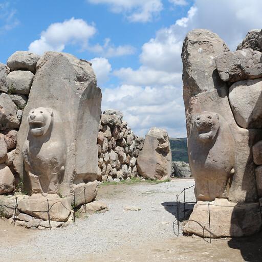 gate at Hattusa