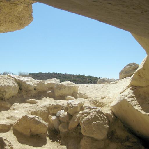 cave at Tel Goded
