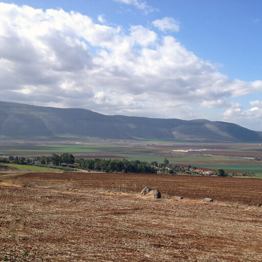 panorama of the Jezreel Valley
