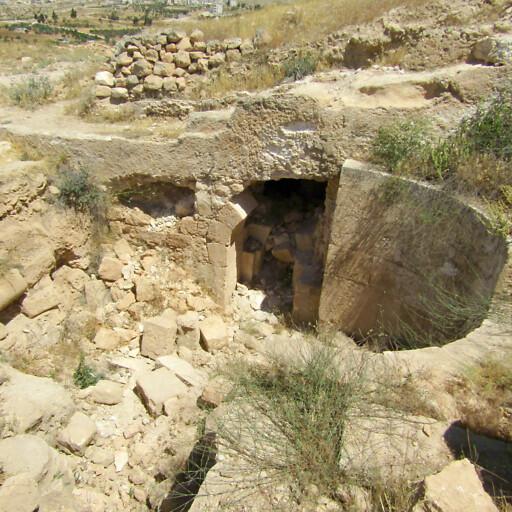 ruins at Tell Zif