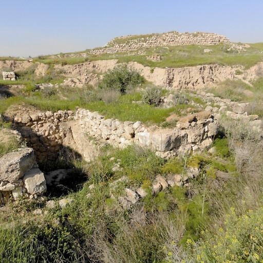 ruins at Tell ed Duweir