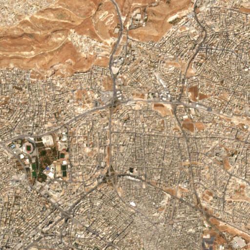 satellite view of the region around Erjan