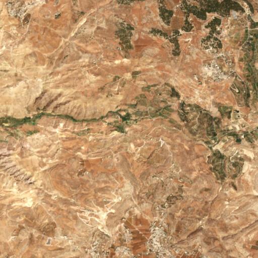 satellite view of the region around Sumia