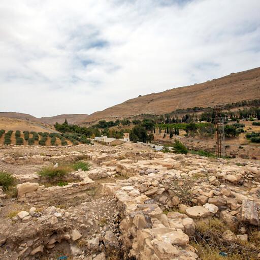 ruins at Khirbet Iskander