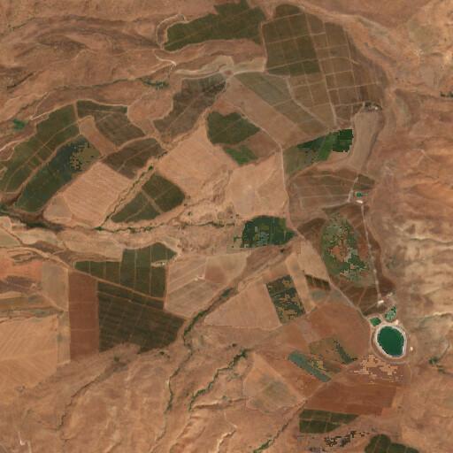 satellite view of the region around Sirin