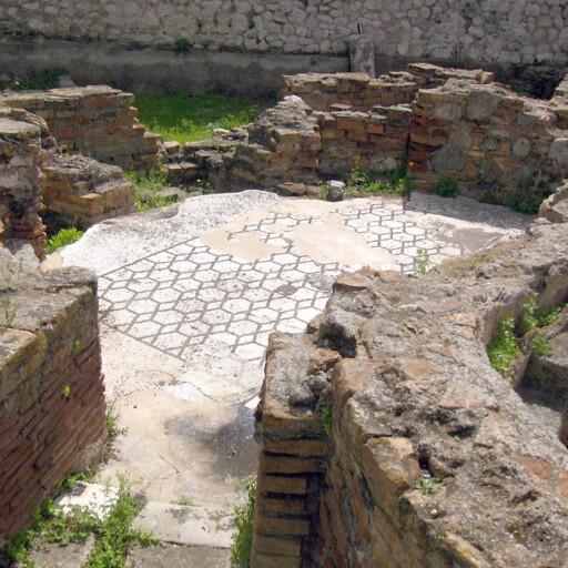ruins at Reggio Calabria