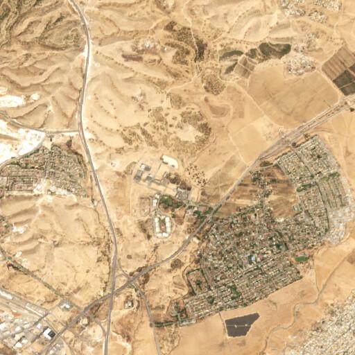 satellite view of the region around Hazar Betarim