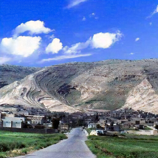 panorama of Al Qush
