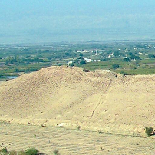 panorama of Tall el Hammam