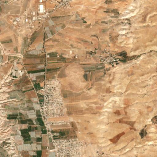satellite view of the region around Sleikhat