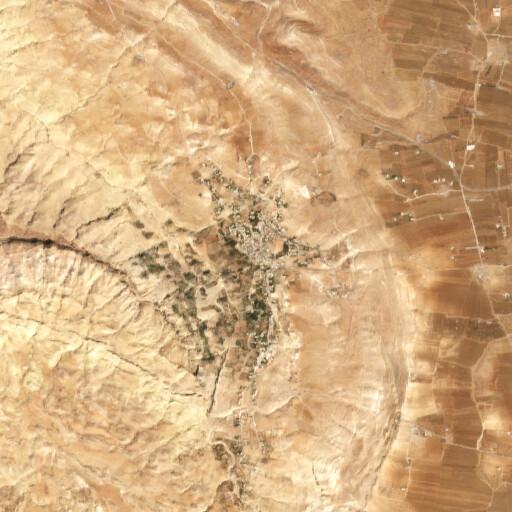 satellite view of the region around El Iraq