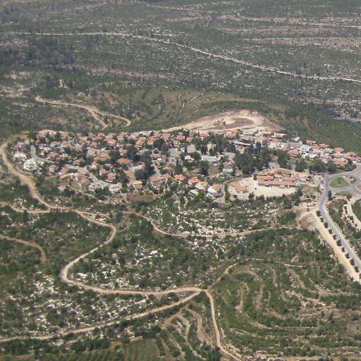 aerial cityscape of Shoresh
