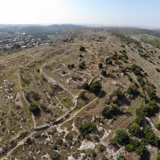ruins at Horbat Darban