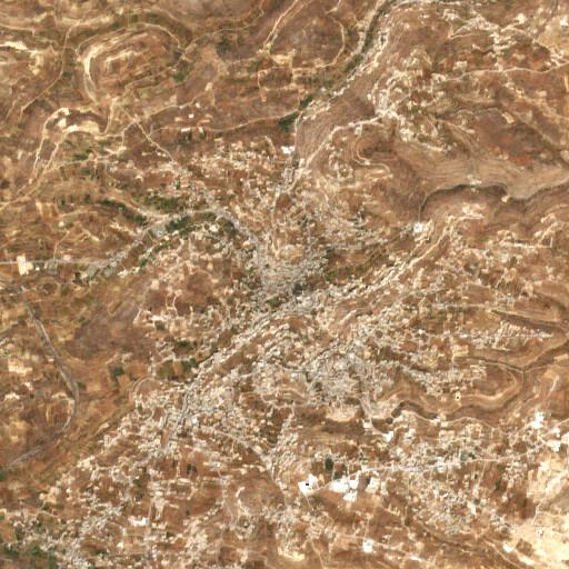satellite view of the region around Sair