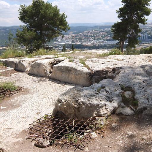 ruins at Tel Tzora