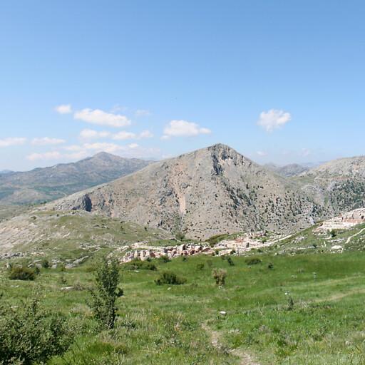 panorama of Sagalassos in Asia