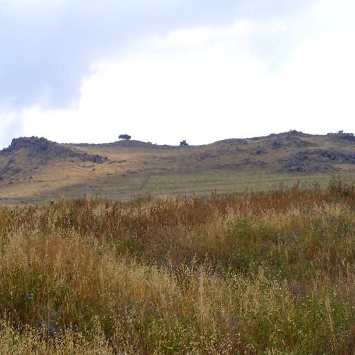 panorama of Qarn Hattin