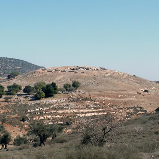 panorama of Khirbet Shifat