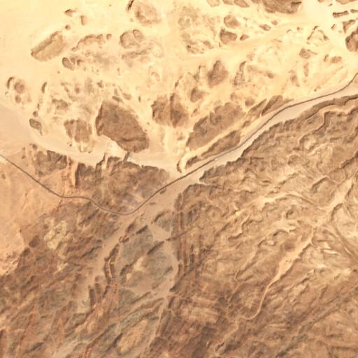 satellite view of the region around Erweis el Ebeirig