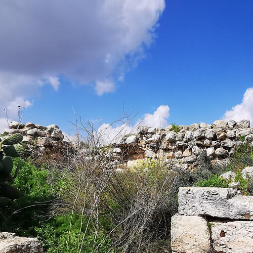 ruins at Al Burj