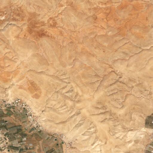 satellite view of the region around Ras el Kharube