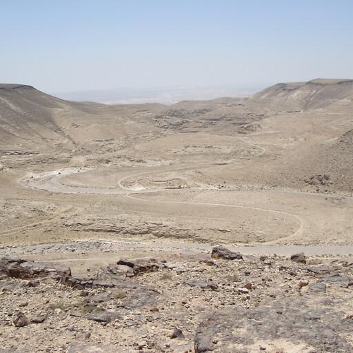 panorama of Wadi el Qeini