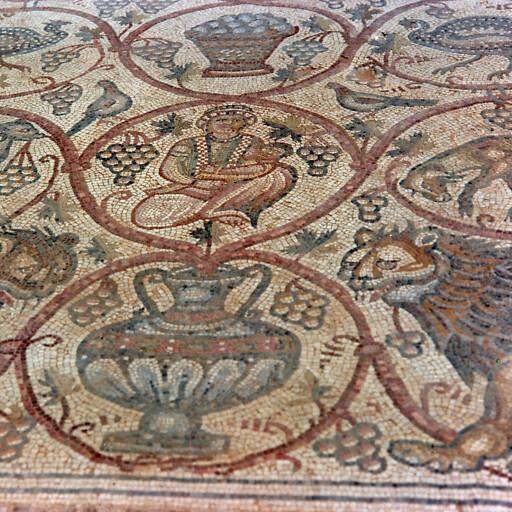 mosaic at Horbat Beer Shama