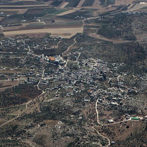 aerial panorama of Rummanah