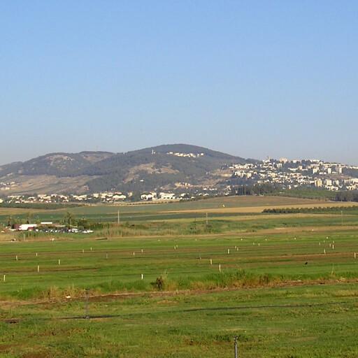 panorama of Givat HaMoreh