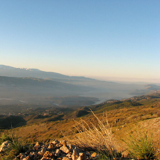 panorama of the Beqaa Valley