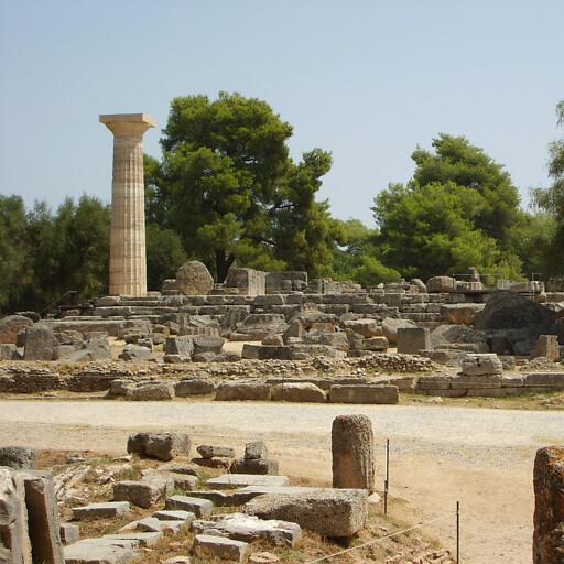 ruins at Elis