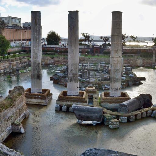 ruins at Pozzuoli