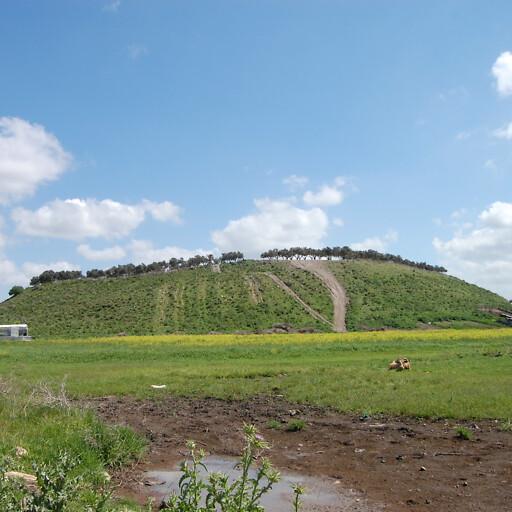 panorama of Tell Keisan
