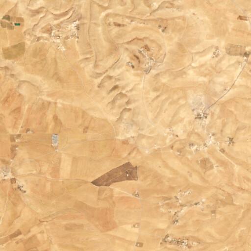 satellite view of the region around El Keryeh