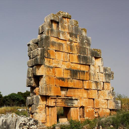 ruins at Tel Kedesh