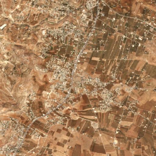 satellite view of the region around Al 'Al