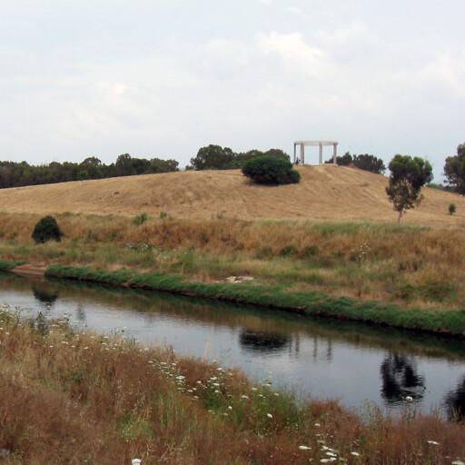 panorama of the Ayalon River