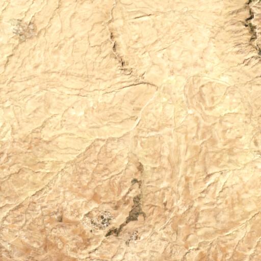 satellite view of the region around Wadi Rihab