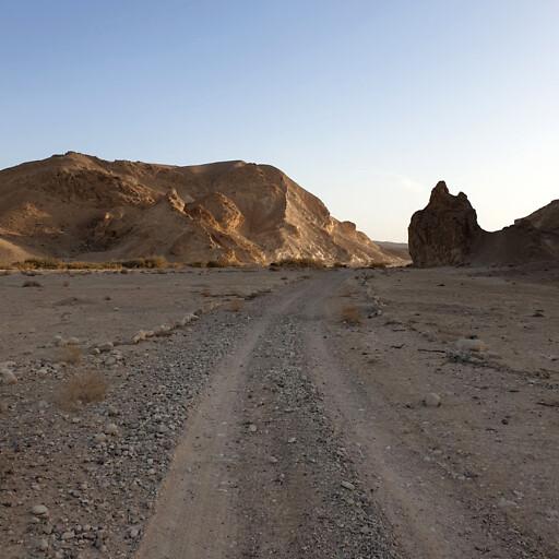 closeup of Wadi Khadakhid