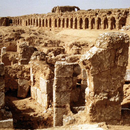 ruins at Resafa