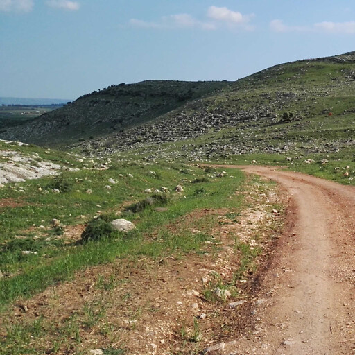 panorama of hills in the region between Kedesh-naphtali and Hazor