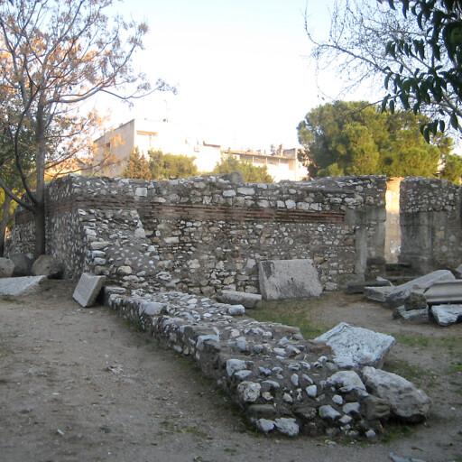 ruins at Akhisar