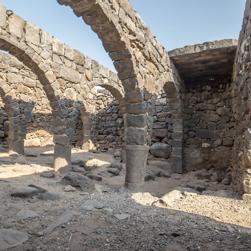 ruins at Khirbet Karraza
