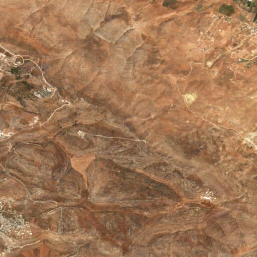 satellite view of the region around Jebel el Kabir
