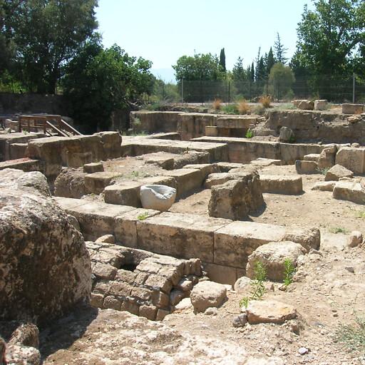 ruins at Banias