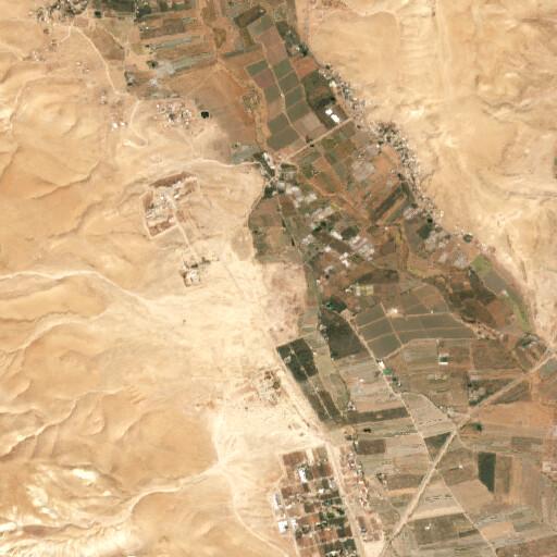 satellite view of the region around Tell Simadi