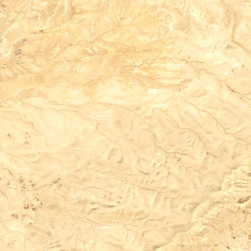 satellite view of the region around Khirbet ez Zeifeh