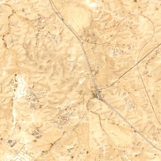satellite view of the region around Khirbet Aro'er