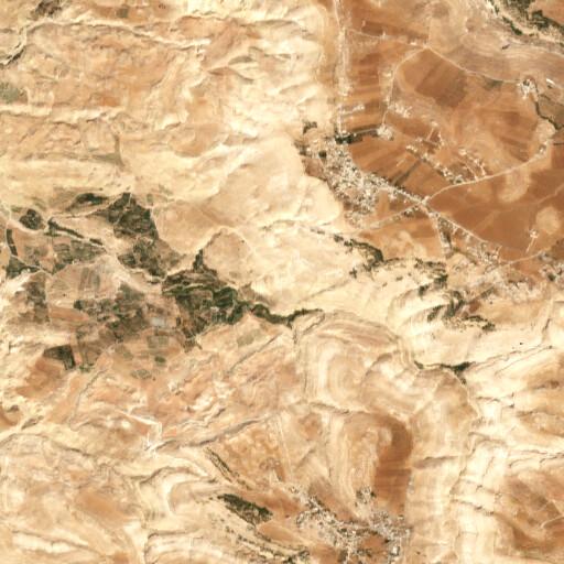satellite view of the region around Haraziya