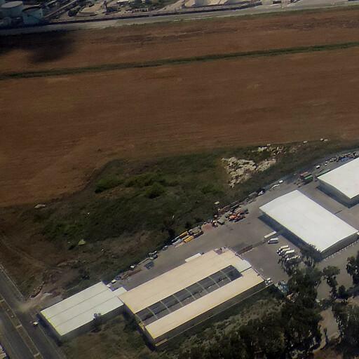 aerial panorama of Tel Nahal